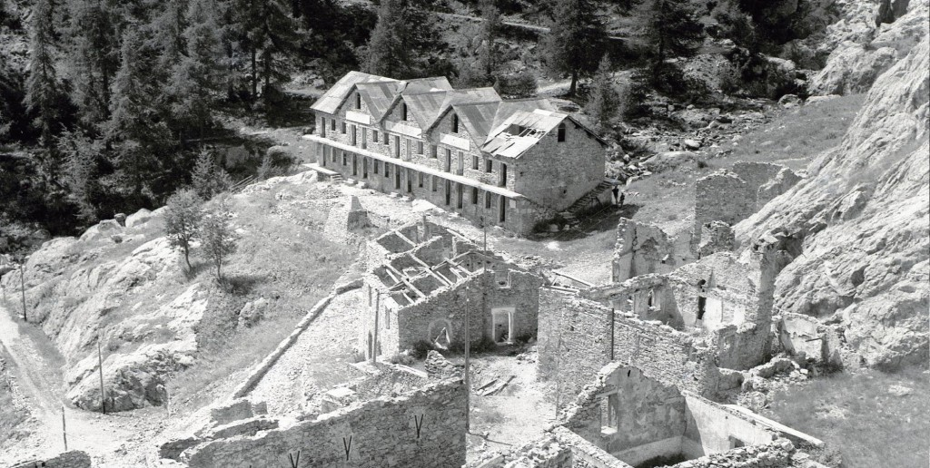 Ruïnes La Minière Valaura - restauratie van de site