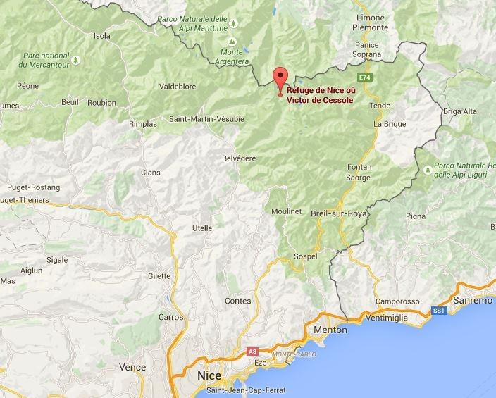 Klik op de kaart om naar de interactieve kaart op Google Maps te gaan.